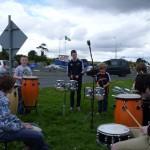 Viking Marathon Thump Drummers
